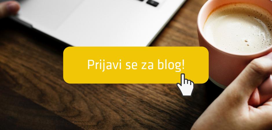 prijavi se za blog